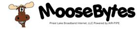 Moosebytes, Priest Lake Broadband Internet